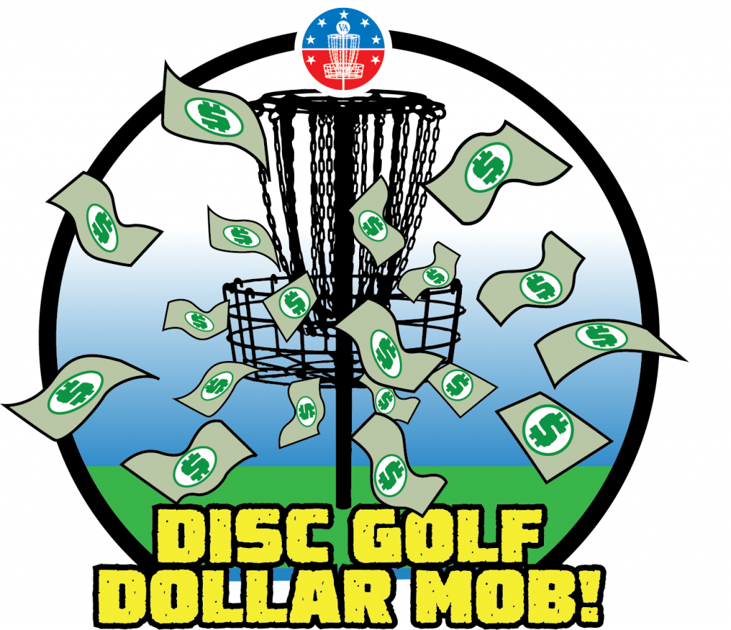 Disc Golf Dollar Mob at Hampton 9 - March 24